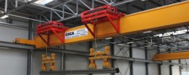 Crane fleet of GIGA met requirements for manipulation in SSI Schäfer