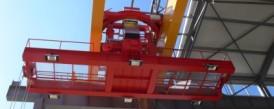 Dodávka mostového jeřábu o nosnosti 50t s otočnou kočkou pro společnost ELTRAF, a.s.