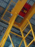 Mounting of double girder gantry crane GPMJ 12,5t-16,38m
