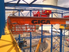Mounting of the crane 165t and 125t