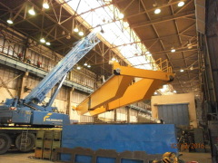 Mounting of the crane GDMJ 50t-20t-22,5m_3