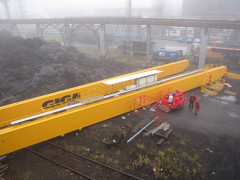 Mounting of bridge crane GDMJ 10t, 35m