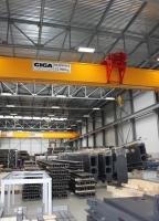 Bridge cranes of GIGA v SSI Schafer