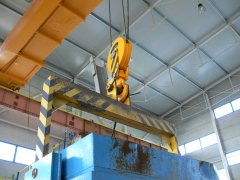 Bridge crane GDMJ 12,5t-27,9m after reconstruction