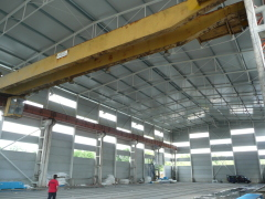 Bridge crane SNINA 12,5t-27,9m before reconstruction