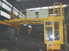 Bridge crane GDMJ, after mounting