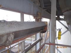Original hoist in the cement plant in Sterlitamak
