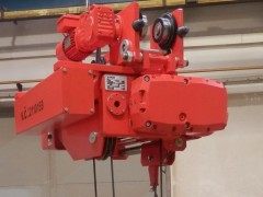 Electric wire-rope hoists GHM 5000-20-4-1-9M,J – single-rail