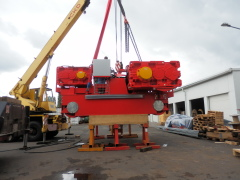 Production of crane GHF 125t