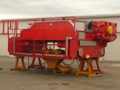 Production of crane - winch GHF 125t