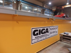 Production of bridge crane GDMJ 50t-20t-22,5m_2