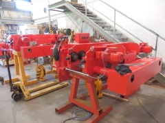 Production of hoists for Uralkhim