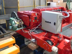 Open Winch GWF-25t, quenching, Wikov