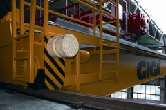 Tests of bridge crane GDMJ 80t-12,5t-25,1m